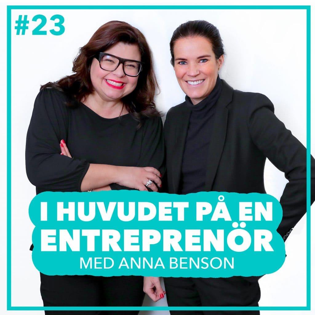 #23 – Anna Benson – Entreprenörskap och psykisk ohälsa